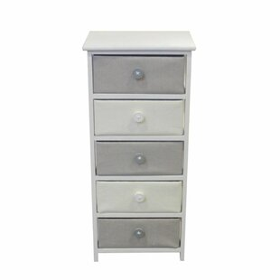 Brinckerhoff Voluminous 5 Drawers Accent Chest by Harriet Bee