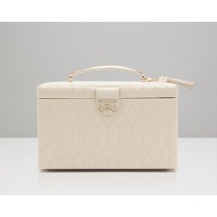 Compare prices Caroline Large Jewelry Case By WOLF