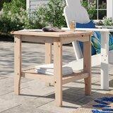Makayla Wooden Side Table