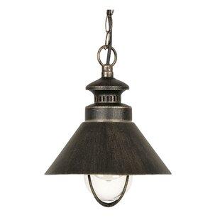 Review Oakmont 1 Light Outdoor Pendant