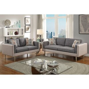 Read Reviews Vargo 2 Piece Living Room Set by George Oliver Reviews (2019) & Buyer's Guide
