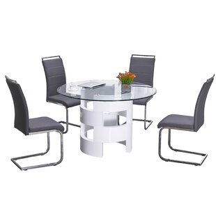 Mui 5 Piece Dining Set