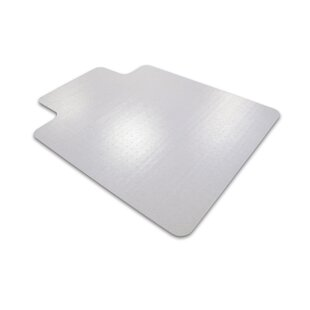Computex Anti-static Advantagemat Standard Pile Carpet Straight Edge Chair Mat By Floortex