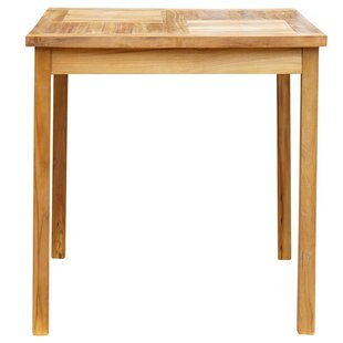 Bayou Breeze Klaus Teak Bar Table