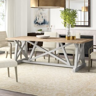 Aquarius Solid Wood Dining Table Furniture Classics