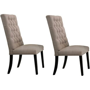 Tweedy Upholstered Dining Chair (Set of 2) by Gracie Oaks