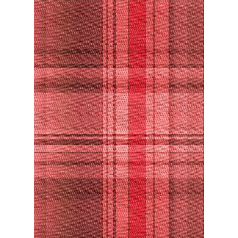 East Urban Home Hendry Plaid Wool Red Area Rug Wayfair