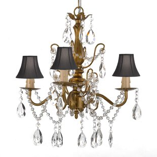Hutson 4-Light Shaded Chandelier by House of Hampton