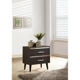 Adlai 2 - Drawer Nightstand in Black by Corrigan Studio®