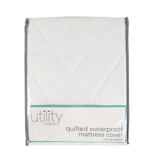 Quilted Waterproof Mattress Cover by Alwyn Home