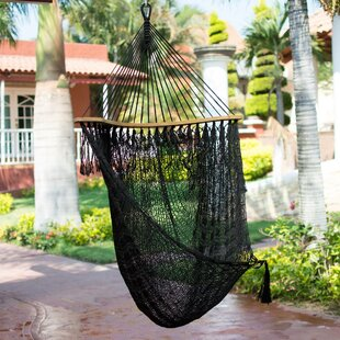 Bloomsbury Market Mayon Nocturnal Dream Nylon Rope Chair Hammock