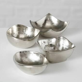 Mercer41 Borealis 2 Piece Aluminum Fruit Decorative Bowl Set Reviews Wayfair