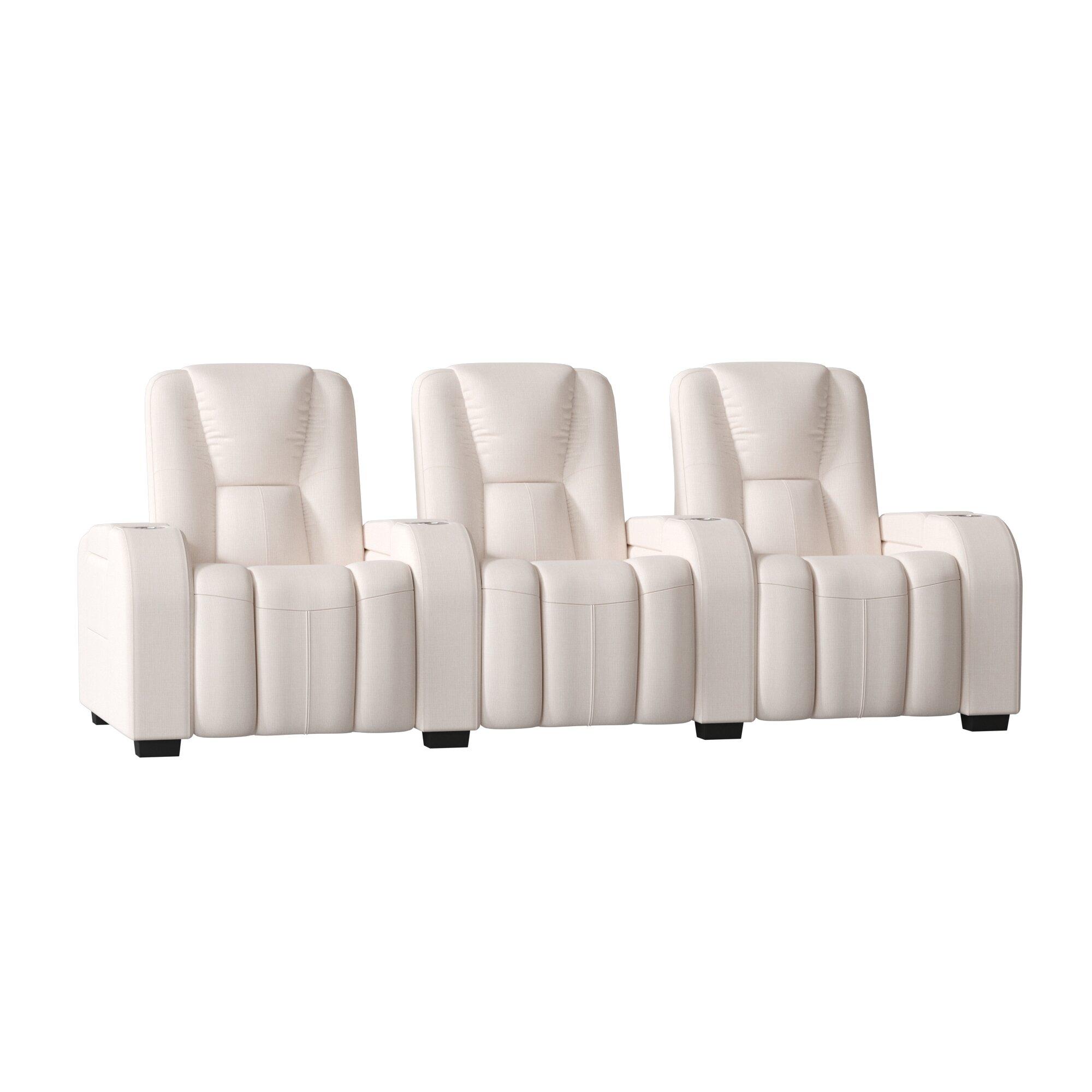 Manual Reclining Home Theater Sofa
