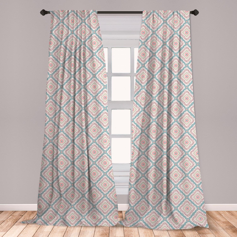 East Urban Home Boho Room Darkening Rod Pocket Curtain Panels Wayfair