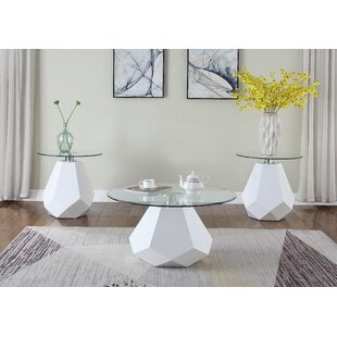 Gerri 3 Piece Coffee Table Set By Everly Quinn