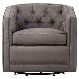 Breakwater Bay Duclos Swivel Barrel Chair