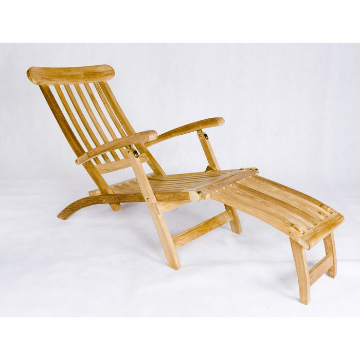 Enjoyable Teak Steamer Lounge Chair Theyellowbook Wood Chair Design Ideas Theyellowbookinfo