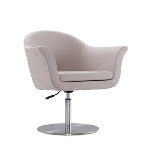 Luttrell Adjustable Swivel Armchair by Orren Ellis