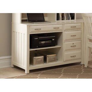 Nicolette Credenza Desk by Darby Home Co