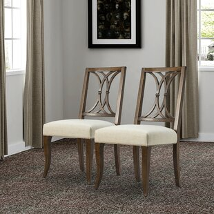 Partain Solid Wood Dining Chair (Set of 2)