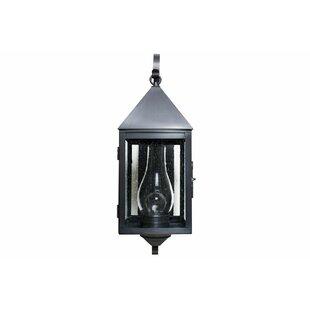 1-Light Outdoor Wall Lantern by Brass Tra..