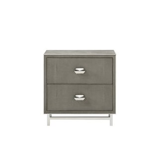 Best Reviews Mansfield 2 Drawer Nightstand by Resource Decor