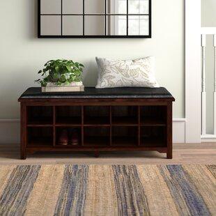 Strange Benton Wood Storage Bench Dailytribune Chair Design For Home Dailytribuneorg