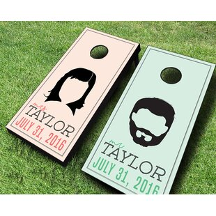 AJJ Cornhole Wedding Hairs..
