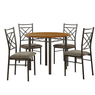Janiya 5 Piece Dining Set