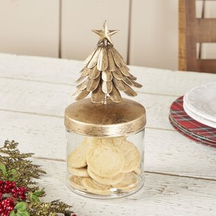 Burnished Pine Canister