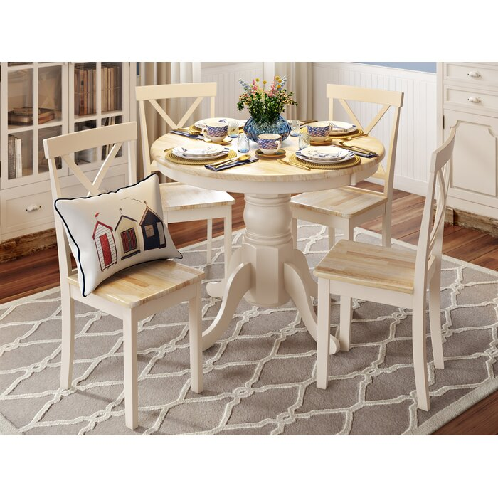 Bartett Extendable Dining Set With 4 Chairs