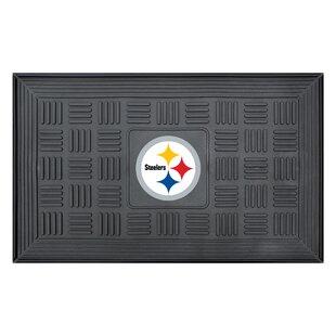 0ff1cd982 NFL - Pittsburgh Steelers Medallion Doormat