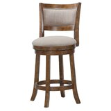 Kilkenny Bar & Counter Swivel Stool by Gracie Oaks