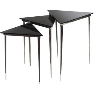 Orren Ellis Arianna 3 Piece Nesting Table