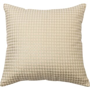 Houndstooth Throw Pillow Cover