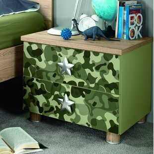Deanne Kids 2 Drawer Nightstand by Zoomie Kids