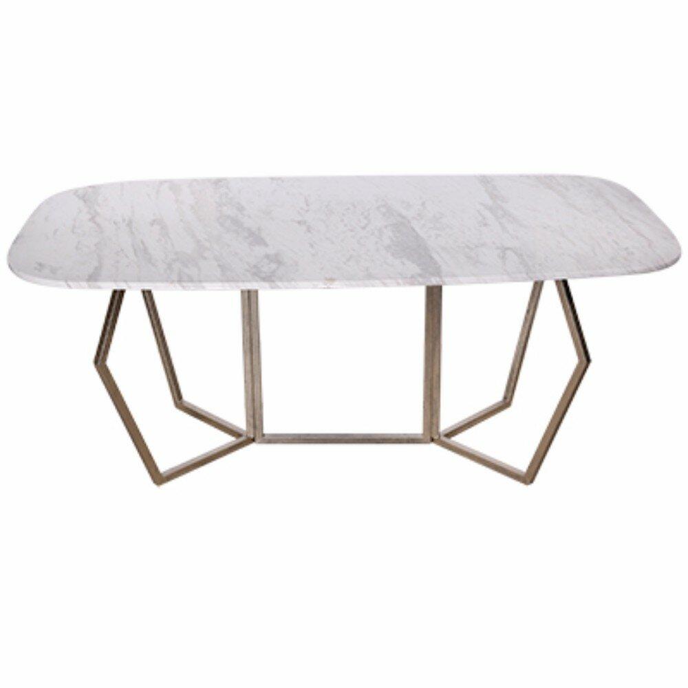 Everly Quinn Chancery Ultra Modern Marble Coffee Table Wayfair