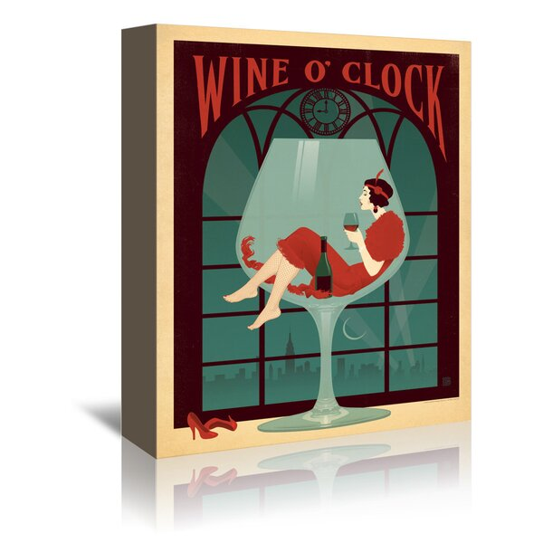 ITS Wine OCLOCK OH LOOK Magnet Kitchen Hook