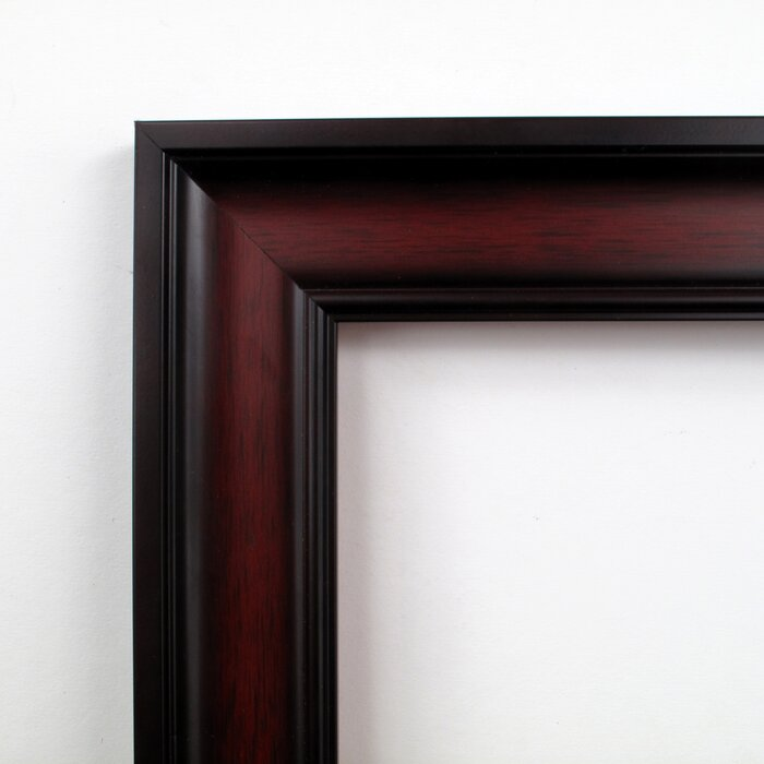 Cherry Wood Accent Wall Mirror