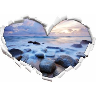 Romantic Sea Wall Sticker By East Urban Home