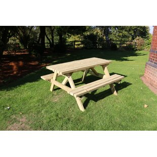 Winterport Wooden Picnic Bench By Sol 72 Outdoor