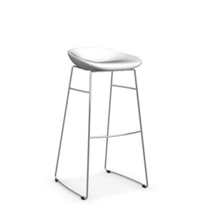 Palm - Upholstered stool Calligaris