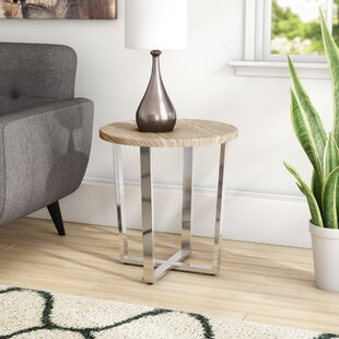 Deville End Table By Ebern Designs