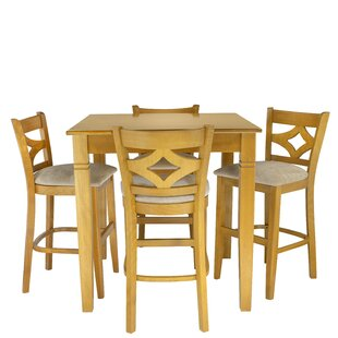Weisman 5 Piece Pub Table Set