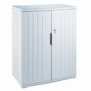 OfficeWorks 2 Door Storage Cabinet by Iceberg Enterprises Wonderful