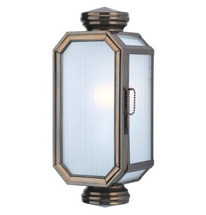 Darby Home Co Natoma 1-Light Outdoor Flush Mount