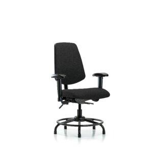 Symple Stuff Taliyah Round Tube Base Desk Height Ergonomic Office Chair