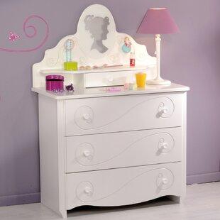 Cedar Grove 3 Drawer Dresser by Harriet Bee