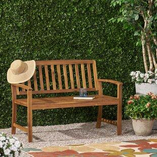 Virgie Teak Bench By Sol 72 Outdoor