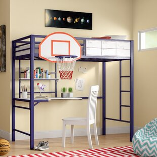 Where buy  Hebron Twin Loft Bed by Zoomie Kids Reviews (2019) & Buyer's Guide